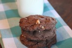 Gluten Free Double Chocolate White Chocolate Cookies