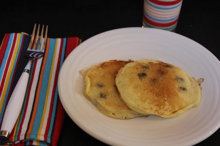 Gluten Free Sour Cream Blueberry Pancakes