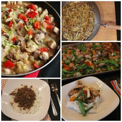 Eight Stir Fry Recipes