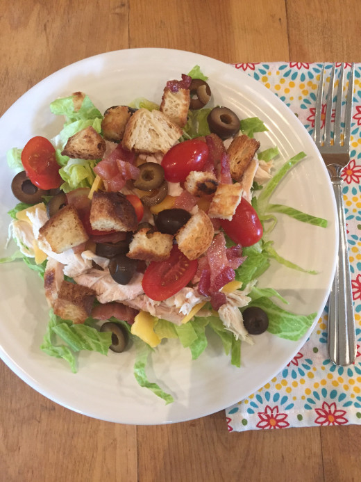 Chicken Bacon Salad