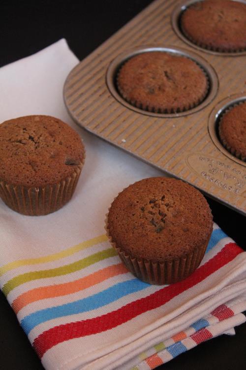 Double Chocolate Gluten Free Mocha Muffins