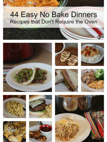 44 Recipes that don't require the oven