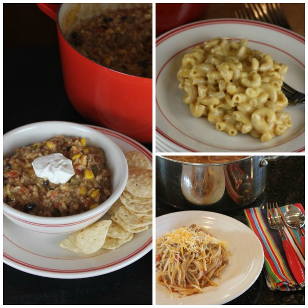 One Pot Meals and Pasta