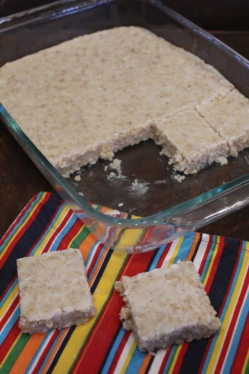White Chocolate No Bake Cookie Bars