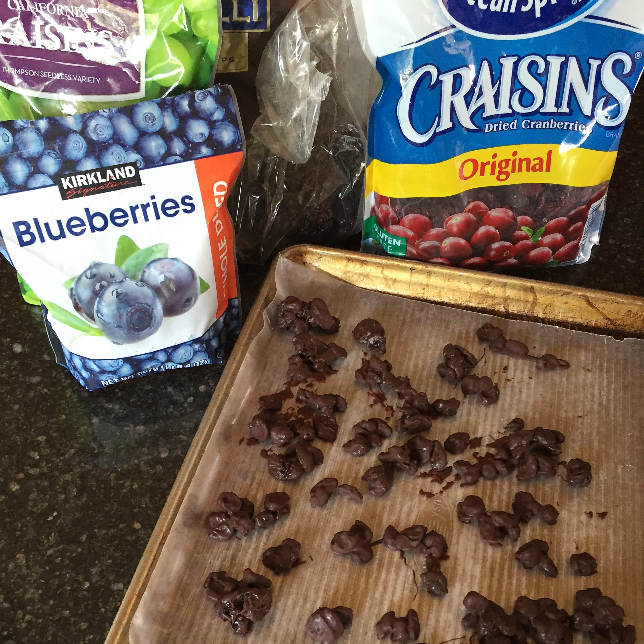 Chocolate Covered Dried Fruit- 5 Ingredients Or Less Recipe