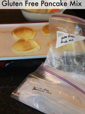 Gluten Free Pancake Mix Recipe