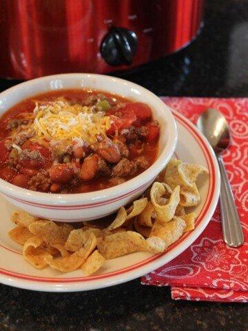 5 Ingredient chili