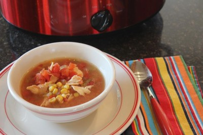 southwest chipotle chili chicken soup