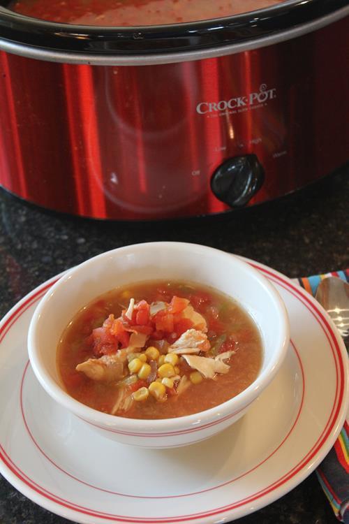 Chipotle Chili Chicken Soup