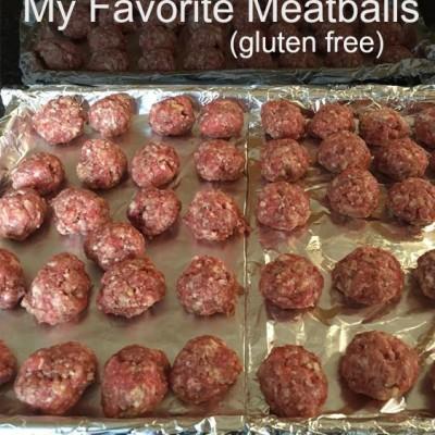 Gluten Free Meatballs