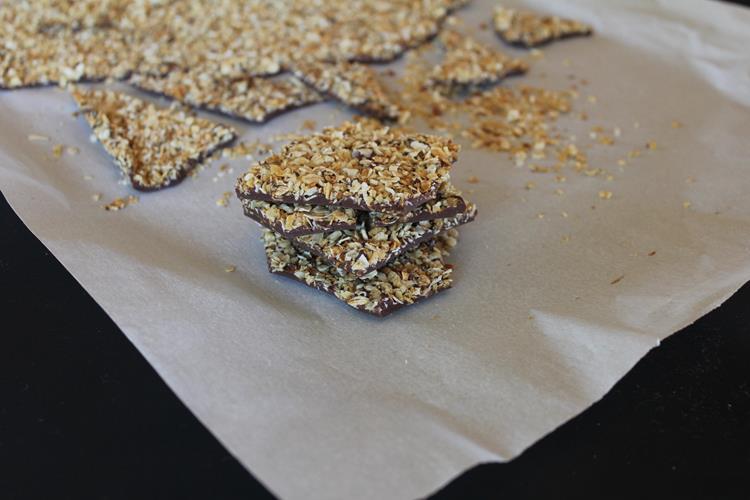 granola bark