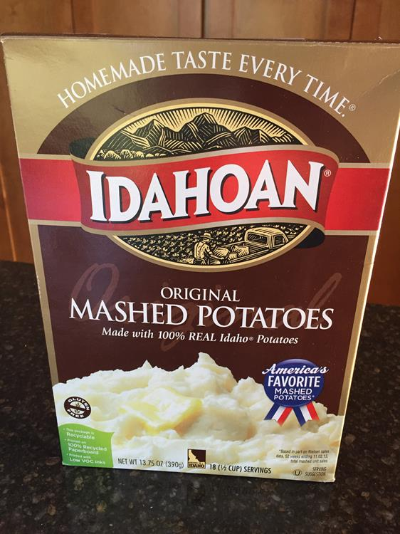 instant potatoes