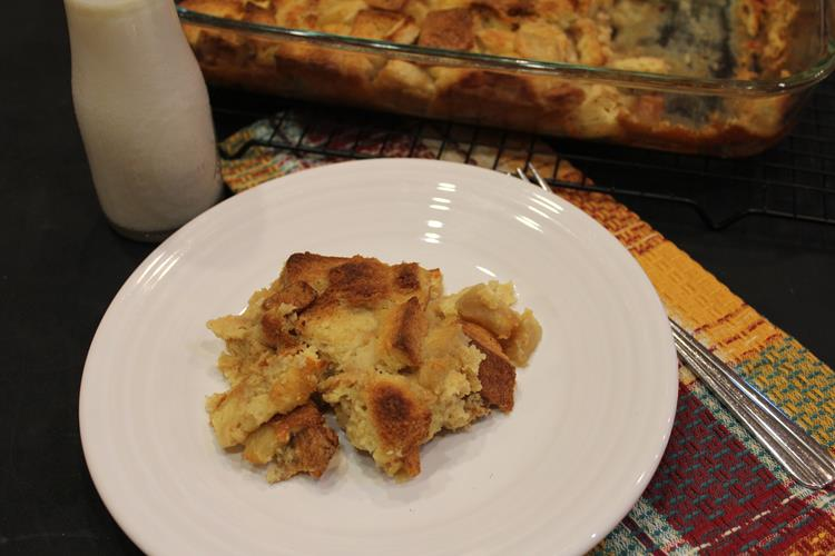 Overnight Apple French Toast Casserole