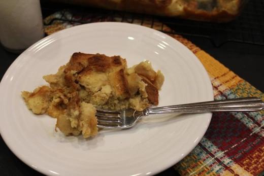 Overnight Apple French Toast Casserole