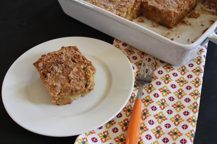 pumpkin pie cake without cake mix