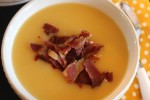 Slow Cooker Butternut Squash and Bacon Soup