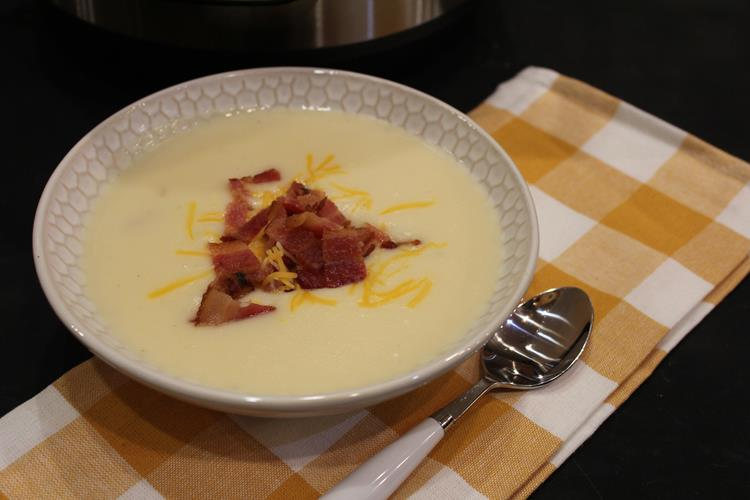 Instant Pot Bake Potato Soup