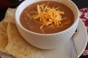Refried Bean Soup