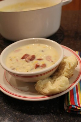 Kielbasa Potato Soup