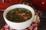 Sausage Spinach Soup