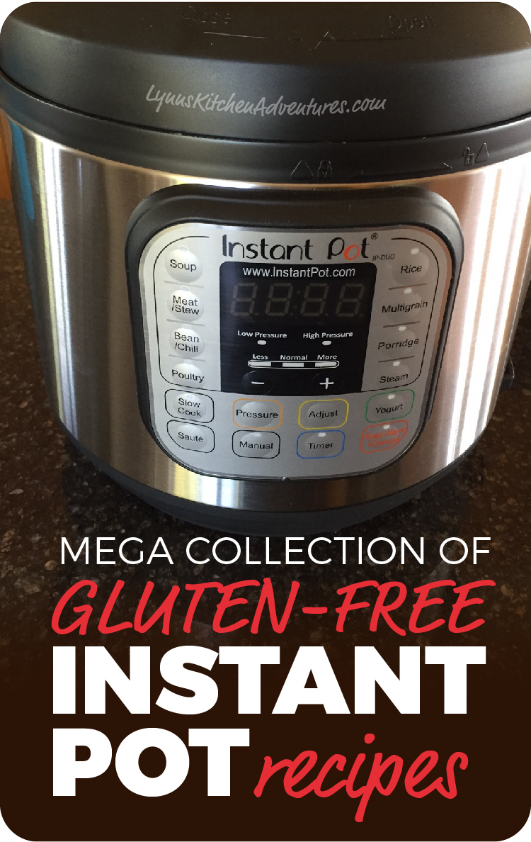 Gluten Free Instant Pot Recipes