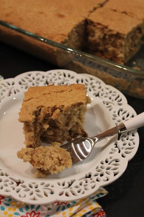 Applesauce Muffin Cake
