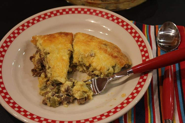 Crustless Taco Quiche