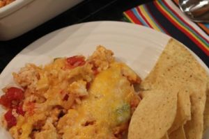 Fajita Rice Casserole