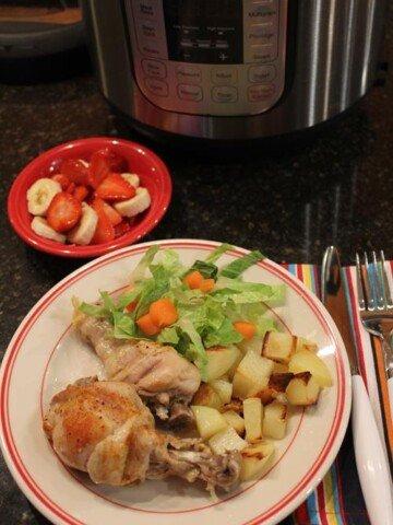 Instant Pot Chicken Legs