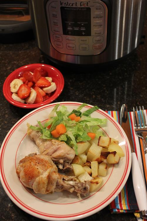 Instant Pot Chicken Legs
