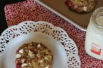 Raspberry Oatmeal Breakfast Cookies
