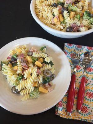 Broccoli Bacon Pasta Salad