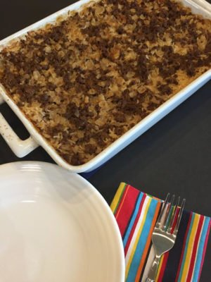 Buttered Rice with Ground Beef
