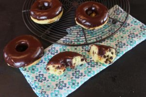 Gluten Free Chocolate Chip Doughnuts