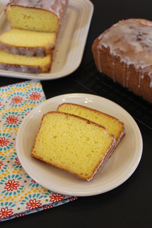 Gluten Free Starbucks Lemon Loaf