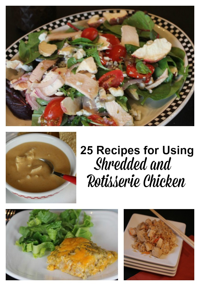 Recipes for Using Shredded and Rotisserie Chicken