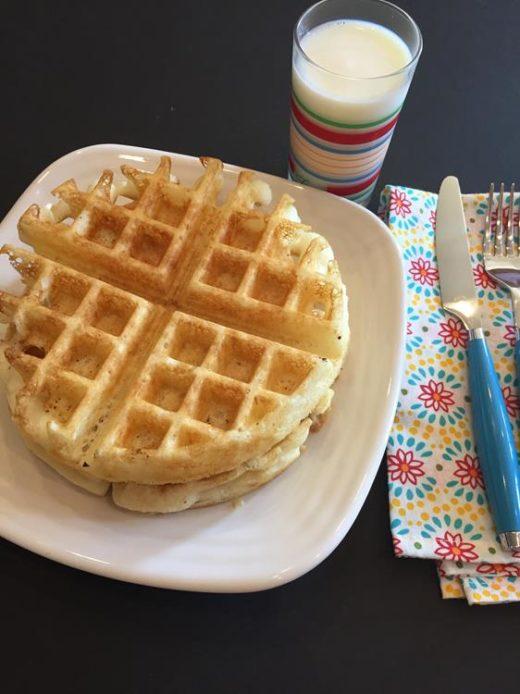 Gluten Free Overnight Belgian Waffles