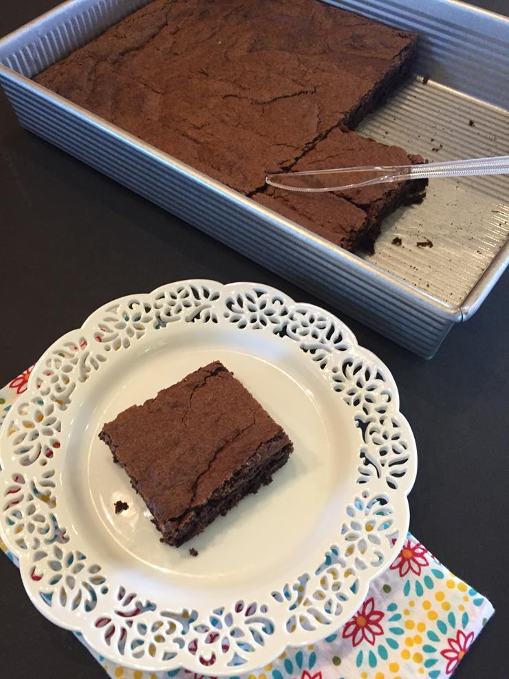Cutting Brownies the Easy Way