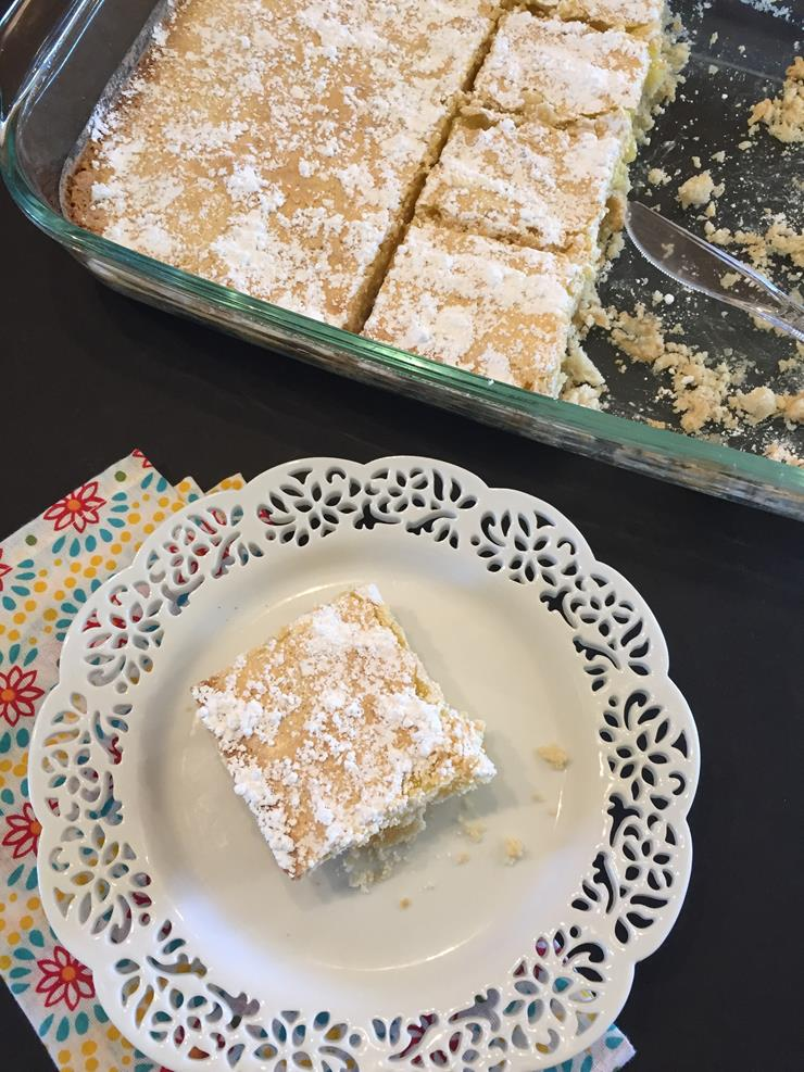 Cutting Lemon Bars Kitchen Tip