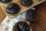 Double Chocolate Gluten Free Banana Muffins