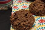 Peanut Butter Chocolate Breakfast Cookies