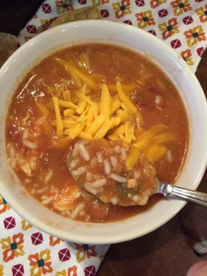 Burrito Bowl Soup