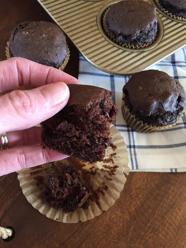 Dairy Free Chocolate Muffin