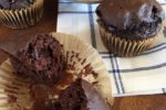 Dairy Free Chocolate Muffins (With a Gluten Free Option)