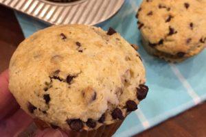 Sour Cream Chocolate Chip Muffins