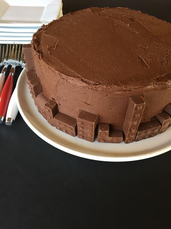 Easy To Make Lego Cake - Lynn's Kitchen Adventures