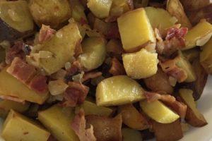 German Potato Salad with Roasted Potatoes