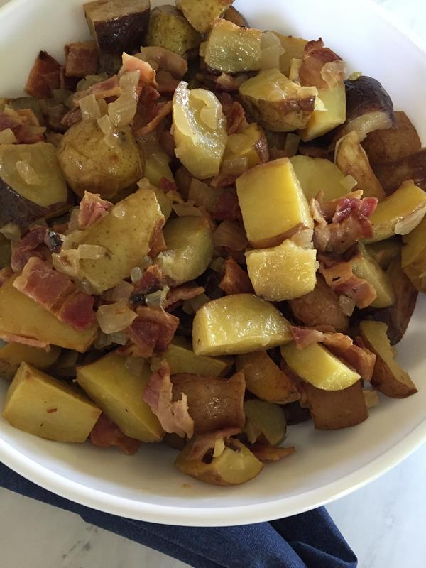 German Potato Salad with Roasted Potatoes