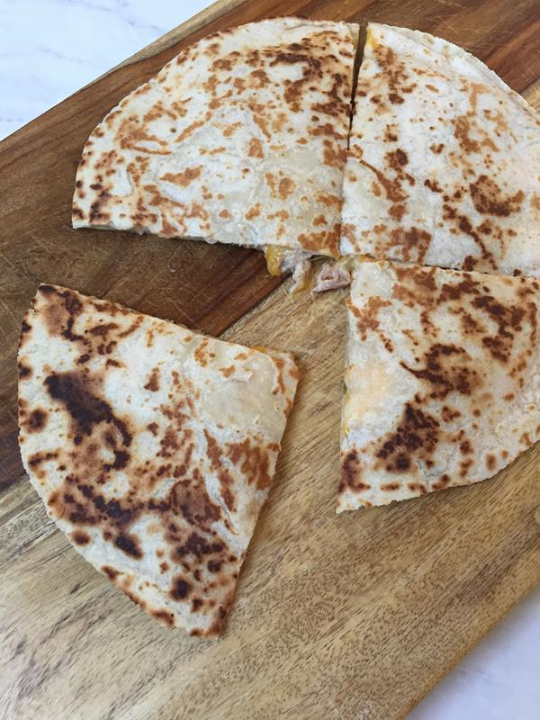 Tuna Melt Quesadilla