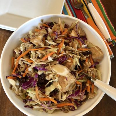 Asian Chicken Cabbage Salad